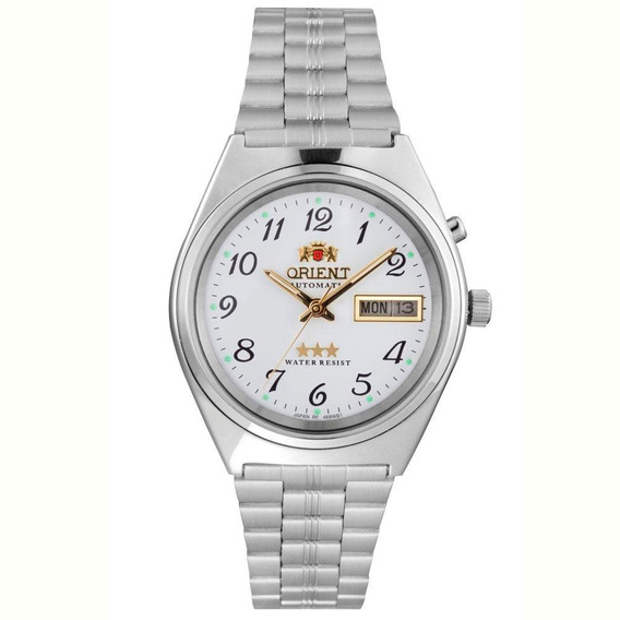 Relógio Orient Masculino Ref: 469wb1a B2sx Diâmetro 3,7cm