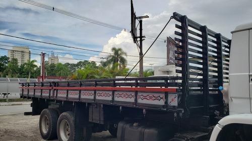 Carroceria De Madeira 7,80m Toco Truck