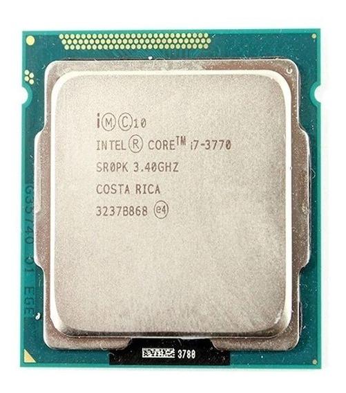 Processador Intel Core I7 3770, 3.4ghz Lga 1155 Sem Cooler