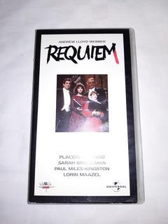 Sarah Brightman Plácido Domingo Requiem Webber - Vhs - Raro