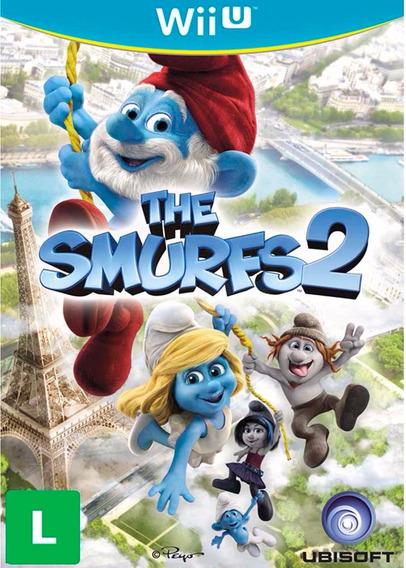 Os Smurfs 2 Nintendo Wii U Mídia Física Novo Lacrado