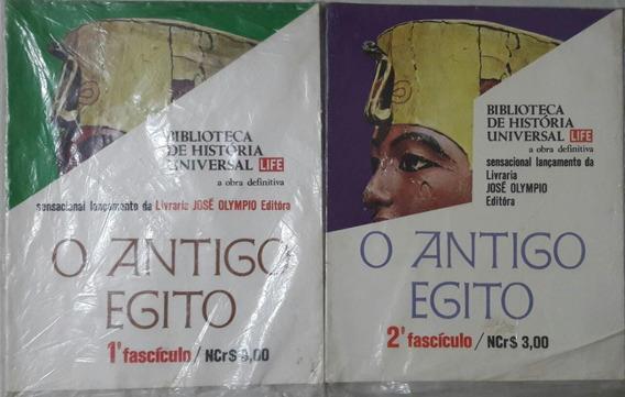 Coleção Completa O Antigo Egito/revistas/8 Fascículos /(a.m)
