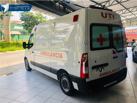 Renault Master Ambulancia Uti L2h2 Simples Remoçao 201