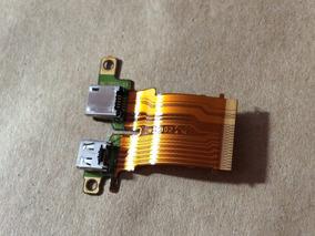 Flex Conector Usb Dsc-hx300 Câmera Sony Original #22