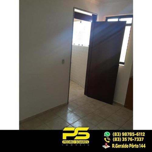 Imagem 1 de 13 de (oportunidade À 70 Metros Do Mar) Apartamento Com 3 Dormitórios À Venda, 80 M² Por R$ 300.000 - Bessa - João Pessoa/pb - Ap1831