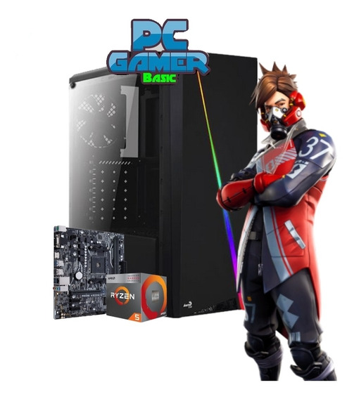 Pc Gamer Inpower Amd Ryzen 5 3400g 1tb 8gb Cylon Rgb