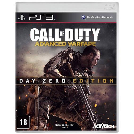 Call Of Duty Advanced Warfare Day Ps3 Mídia Física Português