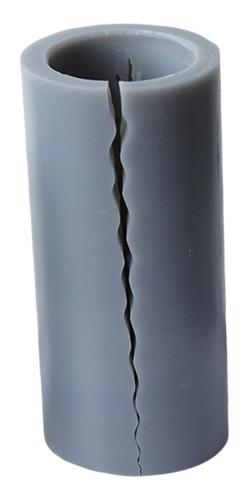 Imagen 1 de 12 de Molde Para Hacer Jabón En Forma De Vela De Silicona 3d Para