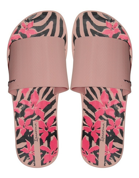 Chinelo Slide Feminino Ipanema Way Estampado