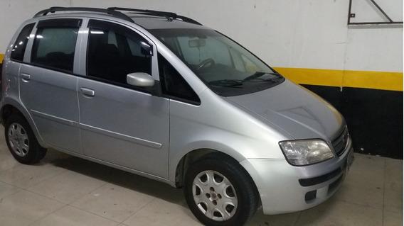 Fiat / Idea Elx 1.4 Flex 2006 Prata , Km 259000