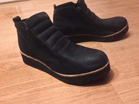 Zapatos Tipo Botinetas Moda Otoño/invierno