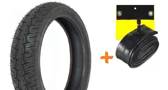 Pneu Traseiro +camara Intruder 125 Pirelli 3.50-16 Citydemon