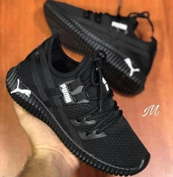 Zapatos Deportivos Puma Talla 38 (negros)
