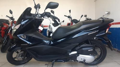 Honda -  Pcx 150 Dlx 2018 Azul Financio E Troco