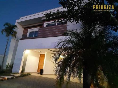 Imagem 1 de 30 de Casa À Venda, 395 M² Por R$ 2.777.000,00 - Alphaville Nova Esplanada - Votorantim/sp - Ca0428