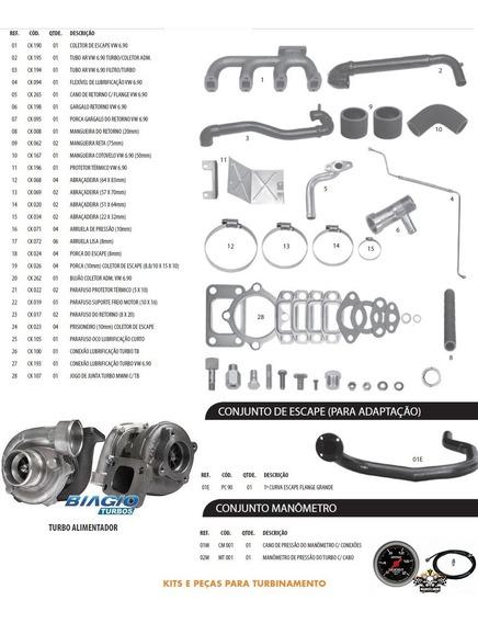 Kit Turbinamento Caminhão 6.90 / 6.90s / 7.90 Mwm 229-4