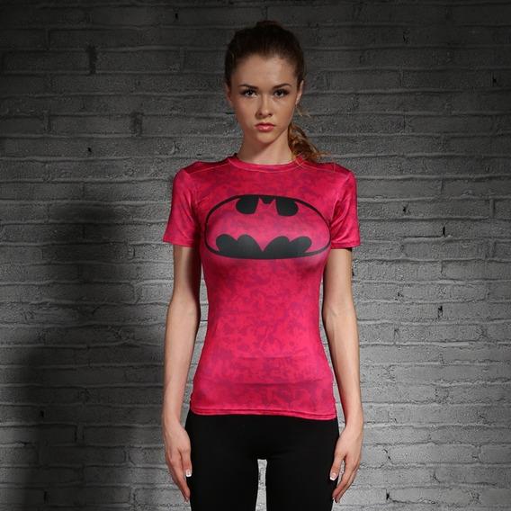 Espectacular!! Remera M/c Orig. Batman Girl- Under Armour S