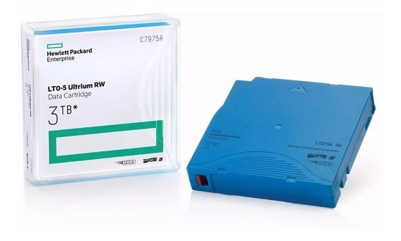 Fita Hp Lto-5 Ultrium Rw Data Cartridge 3tb (c7975a)