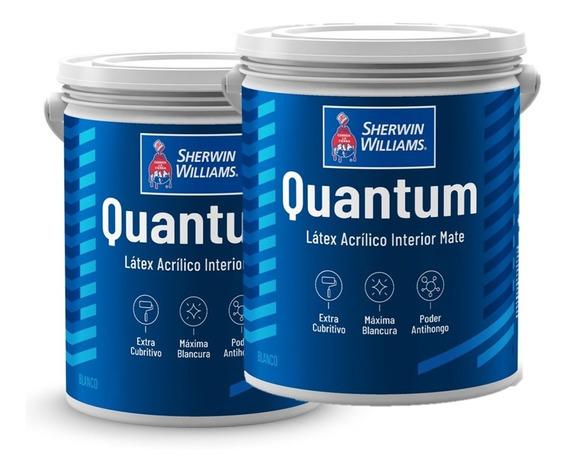 Pinturas Sherwin Williams Quantum Látex Int. Promo 40 Lts