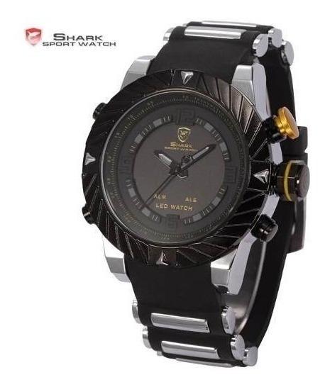 Relógio Shark Militar Sh168 Original Na Caixa Vários Modelos