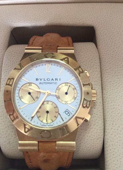 Relógio Bvlgari De Ouro Puro 18k!!
