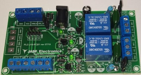 Placa Relé Arduino Compatível, 12v Com 2 Canais - Jasf Electronics