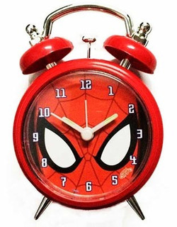 Spiderman Reloj Despertador Cresko A452