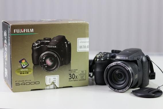 Câmera Fujifilm Finepix S4000 Zoom 30x 14megapixel + Bolsa