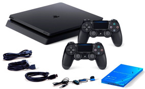 Ps4 Playstation 4 Slim 500 Gb C/2 Controles Originais Bivolt