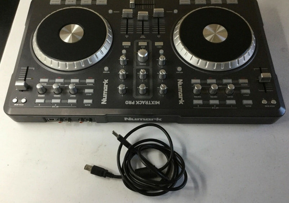 Controladora Profissional Dj Numark Mixtrack Pro Usada