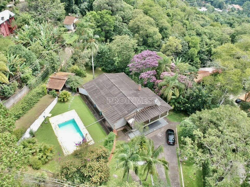 Chácara Com 5 Dormitórios À Venda, 3200 M² Por R$ 1.150.000,00 - Chácaras Bartira - Embu Das Artes/sp - Ch0260