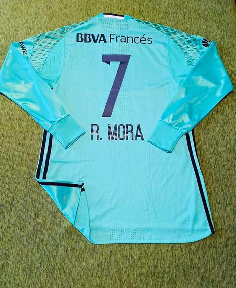 Camiseta River Homenaje Chapecoense # 7 R. Mora Talle 6