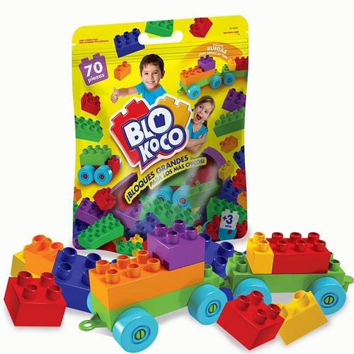 Blokoco Doypack 70 Pcs 01-0252 Envio Full