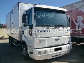 Ford Cargo 815 Ano 2002 Baú 5,46 Mts