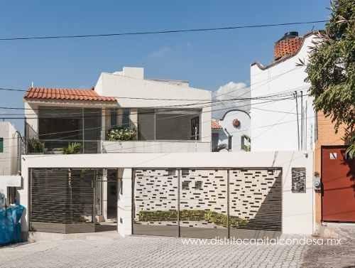 Casa Amueblada En Renta En Vista Hermosa, Cuernavaca Morelos