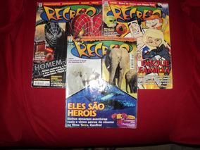 Lote Com 3 Revistas Recreio