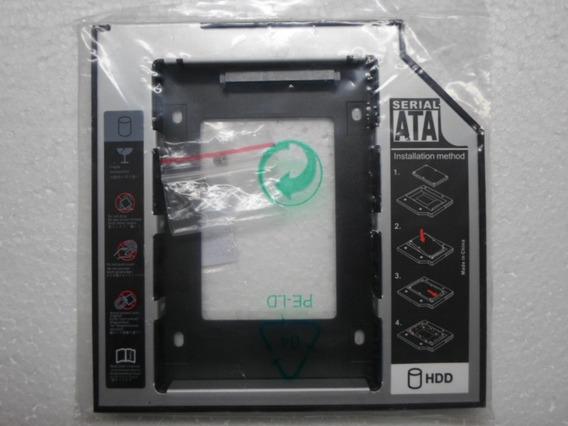 Adaptador Caddy Hdd/sdd/dvd 12,7mm Y 9mm Sata