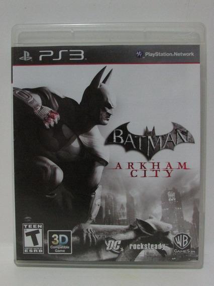 Ps3 - Batman Arkham City Completo Americano Mídia Física