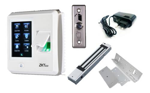 Imagen 1 de 8 de Combo Control De Acceso Biométrico Sf300 Ztkeco®