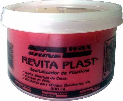 Revitalizador P/plástico 500 Gr.