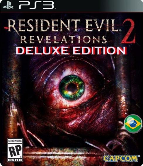 Resident Evil Revelations 2 Deluxe + Dlcs - Jogos Ps3
