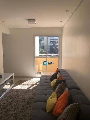 Apartamento Com 2 Dormitórios À Venda, 52 M² - Vila Andrade (zona Sul) - São Paulo/sp - Ap9607