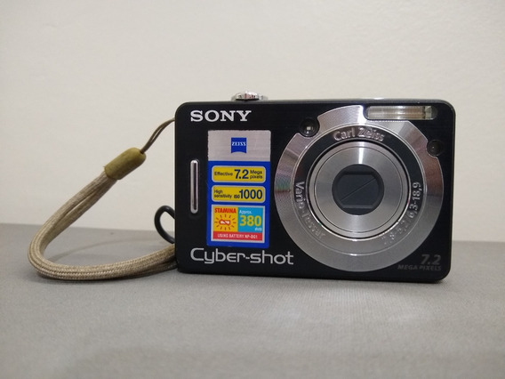 Camera Digital Sony Cyber-shot Dsc W55 7.2 Megapixel