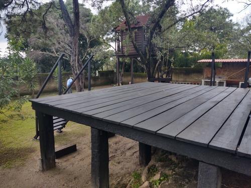 Imagen 1 de 4 de Bambú Y Madera. Terrazas,cercas Y Tejabanes Para Jardín