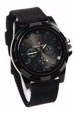 Reloj Gemius Army- Militar- Color Negro