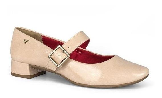 Sapato Mississipi Q0082 Feminino Salto Baixo Verniz