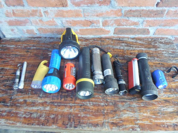 Super Lote 13 Lanternas Para Conserto Ou Peças