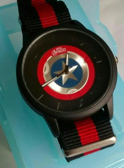 Relógio Os Vingadores Avengers Capitão América