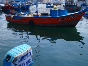 Vendo Embarcacion Pesqueras De 6 Toneladas Con Todos Sus Per