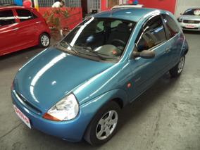 Ka Gl Image 1.0 2000 Azul Completo Zetec Rocan Veja!